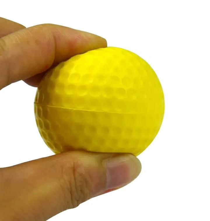 연습용 스펀지 골프공 충격방지 소음방지