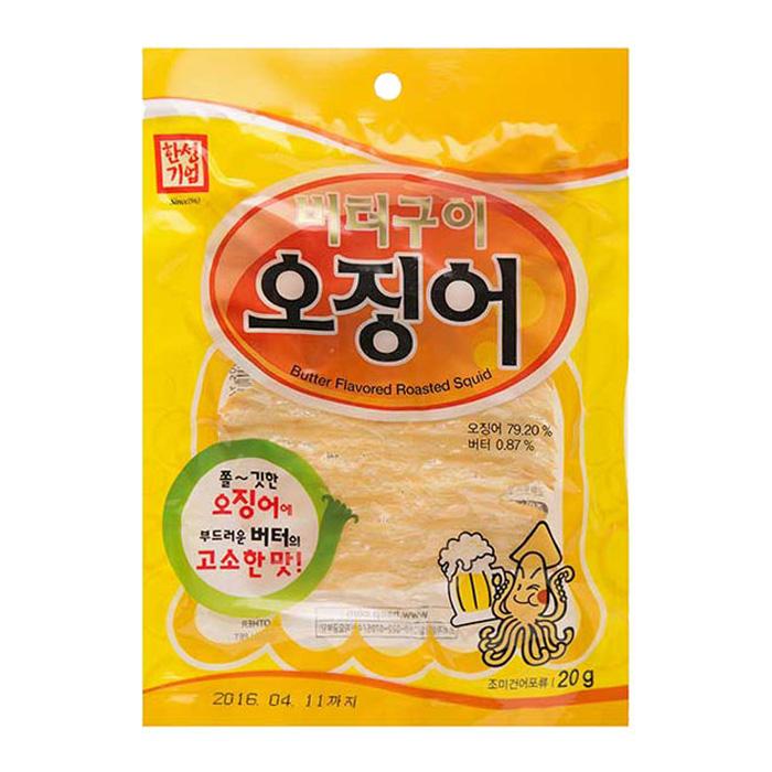 한성 버터구이오징어(통) 20g