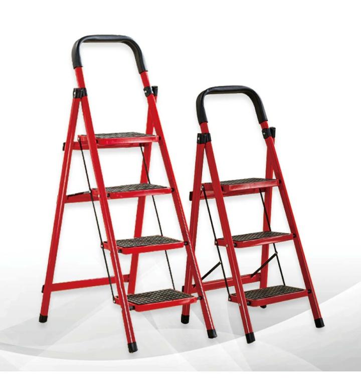 사다리 가정용 접이식 미니 작업용 2단 3단 4단 계단 안전 발판