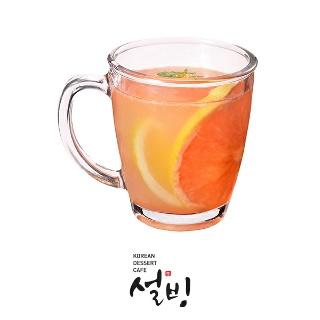 티몬선물하기 서울 [설빙] 자몽유자차 hot 티몬E쿠폰으로 전국 어디서나