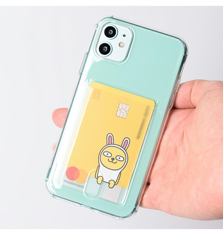 아이폰11 프로 투명 카드 케이스
