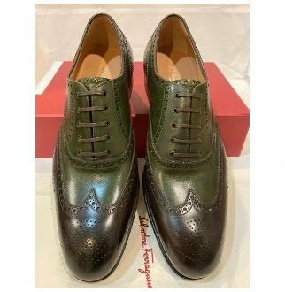 SALVATORE FERRAGAMO Salvatore Ferragamo Men  TRAMEZZA  Shoes  TRIESTE  Size 10.5EE  SPECIAL EDITION Salvatore Ferragamo