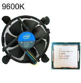 인텔 코어 i5 9세대 9600K  커피레이크 R 벌크+쿨러 - CPU 코어i7