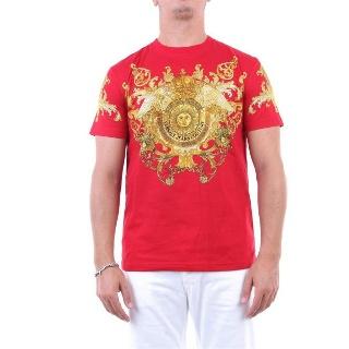 AK온라인몰 베르사체 [루플랫] VERSACE 남성 티셔츠 코튼 B3GWA7S1WUP600ROSSOFANTAS RED  13 - 트렌디 감성의 스마트한 쇼핑공간