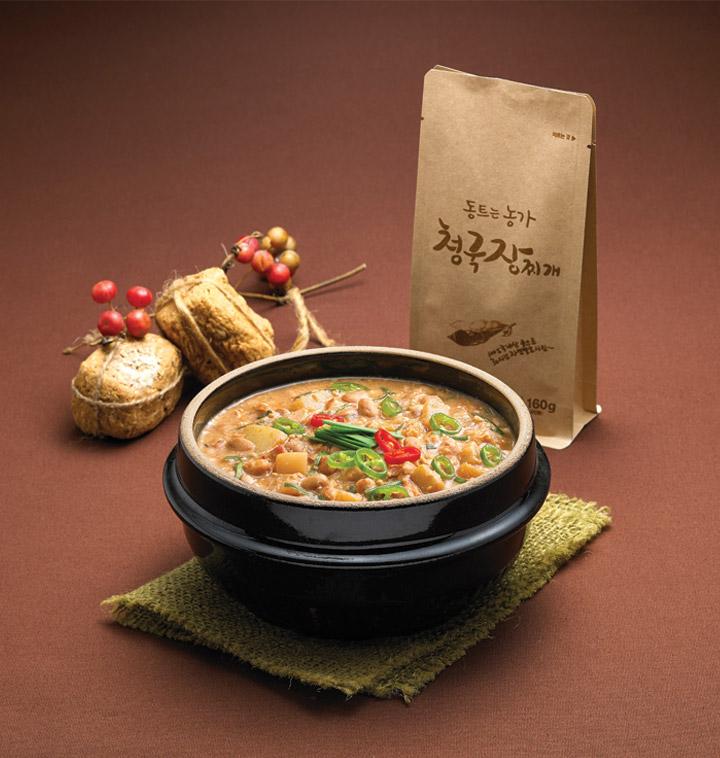 [동트는농가] 전통 청국장찌개, 콩탕
