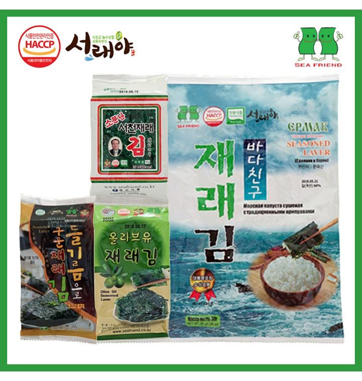[빠른배송] 선물용 / 식탁 / 도시락 / 반찬용 재래김 모음 [영신식품]